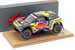 PEUGEOT 3008 DKR 3rd Rally Dakar 2019 S. Loeb / D. Elena - Spark Escala 1:43 (s5626)