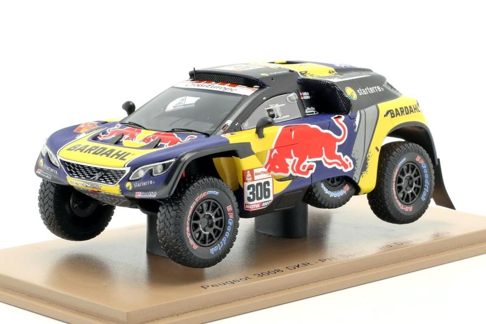 Spark S5626 Peugeot 3008 DKR phsport 3rd Dakar 2019-Sebastien Loeb 1//43 Escala