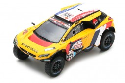 PEUGEOT 2008 DKR Rally Dakar 2019 P. Lachaume / J-M. Polato - Spark Scale 1:43 (s5628)