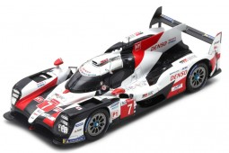 TOYOTA TS050 2nd 24h Le Mans 2019 Conway / Kobayashi / Lopez - Spark Scale 1:43 (s7904)