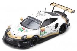 PORSCHE 911 RSR 2nd LMGTE Pro 24h Le Mans 2019 Lietz / Bruni / Makowiecki - Spark Scale 1:43 (s7936)