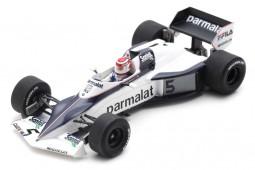 BRABHAM BT52 2nd GP F1 Monaco 1983 Nelson Piquet - Spark Scale 1:43 (s7110)