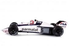 BRABHAM BT52 2nd GP F1 Monaco 1983 Nelson Piquet - Spark Escala 1:43 (s7110)