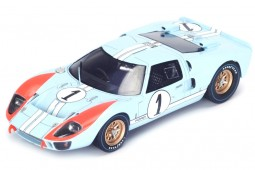 FORD GT40 MKII 2nd 24h LeMans 1966 K. Miles / D. Hulme - Spark Escala 1:43 (s4075)