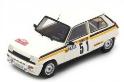 RENAULT 5 Alpine Turbo Rally Monte Carlo 1984 F. Chauche / C. Teyssier - Spark Scale 1:43 (s3868)
