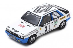 RENAULT 11 Turbo Rally Monte Carlo 1985 A. Oreille / S. Oreille - Spark Escala 1:43 (s5566)