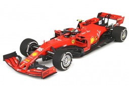 FERRARI SF90 Winner GP F1 Italia 2019 Charles Leclerc - BBR Scale 1:18 (BBR191836)