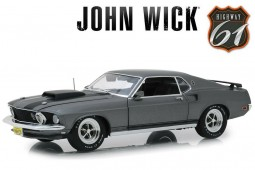 """Ford MUSTANG Boss 429 1969 """"John Wick I"""" - Highway 61 Scale 1:18 (18016)"""