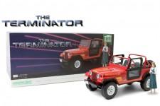 "JEEP CJ-7 Renegade 1983 ""Terminator (1984)"" Incluye Figura - Greenlight Escala 1:18 (19060)"