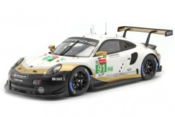 PORSCHE 911 RSR GTE 2nd 24h LeMans 2019 Lietz / Bruni / Makowiecki - Spark Escala 1:18 (18s434)