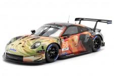 PORSCHE 911 RSR Ganador LMGTE LeMans 2019 Bergmeister / Lindsey / Perfetti - Spark Escala 1:18 (18s465)