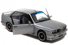BMW M3 (E30) 1990 Plata - Solido Escala 1:18 (S1801506)