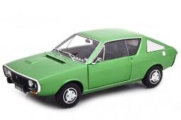 RENAULT R17 1976 Verde Metalico - Solido Escala 1:18 (S1803701)