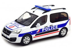 PEUGEOT Partner Police Nationale 2017 - Norev Scale 1:18 (184891)