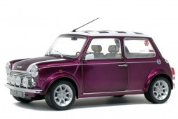 MINI Cooper 1.3I Sport Pack 1997 Morado Metalico - Solido Escala 1:18 (S1800606)