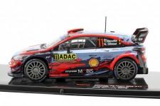 HYUNDAI i20 Coupe WRC Rally Alemania 2019 T. Neuville / N. Gilsoul - Ixo Escala 1:43 (RAM729)
