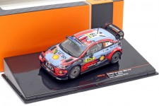 HYUNDAI i20 Coupe WRC Rally Catalunya 2019 S. Loeb / D. Elena - Ixo Escala 1:43 (RAM733)