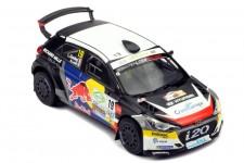 HYUNDAI i20 R5 Rally Terre Du Var 2019 S. Loeb / L. Godey - Ixo Escala 1:43 (RAM736)