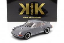 PORSCHE 911 Singer Coupe 2014 Gris - KK-Scale Escala 1:18 (KKDC180442)