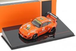 PORSCHE 911 (993) RWB Rauh-Welt Jagermeister - Ixo Models Scale 1:43 (MOC210)