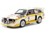 AUDI Sport Quattro S1 Rally Monte Carlo 1986 W. Rohrl / C. Geistdorfer - AutoArt Escala 1:18 (88601)