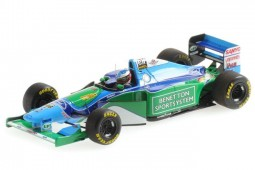BENETTON B194 Ganador GP F1 Brazil 1994 Campeon del Mundo M. Schumacher - Minichamps Escala 1:43 (517940105)