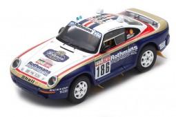 PORSCHE 959 Rally Paris-Dakar 1985 Metge / Lemoyne - Spark Escala 1:43 (s7818)