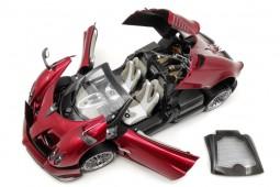 PAGANI Huayra Roadster 2018 Rojo - LCD Models Escala 1:18 (LCD18002RE)