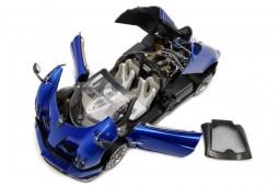 PAGANI Huayra Roadster 2018 Azul Metalico - LCD Models Escala 1:18 (LCD18002BL)