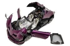 PAGANI Huayra Roadster 2018 Violeta Metalico - LCD Models Escala 1:18 (LCD18002PU)