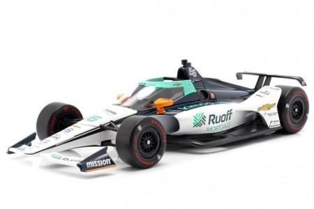 ARROW McLaren SP Chevrolet Indy 500 2020 Fernando Alonso - Greenlight Escala 1:18 (11097)
