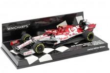 ALFA ROMEO C39 GP Formula 1 Styria 2020 A. Giovinazzi - Minichamps Escala 1:43 (417200299)