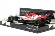 ALFA ROMEO C39 GP Formula 1 Styria 2020 A. Giovinazzi - Minichamps Scale 1:43 (417200299)