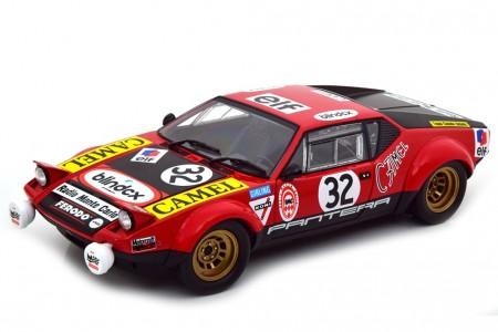 DE TOMASO Pantera 24h Le Mans 1972 Jacqueminz / Dprez - Kyosho Escala 1:18 (08855B)
