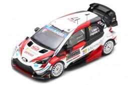 TOYOTA YARIS WRC 2nd Rally Monte Carlo 2020 S. Ogier / J. Ingrassia - Spark Escala 1:43 (s6551)
