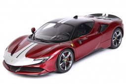 FERRARI SF90 Stradale Pack Fiorano 2019 Rosso Fuoco - BBR Models Scale 1:18 (P18188B)