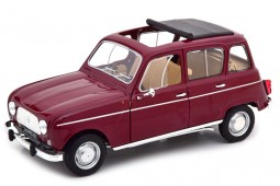 RENAULT 4L 1966 Dark Red - Norev Scale 1:18 (185187)