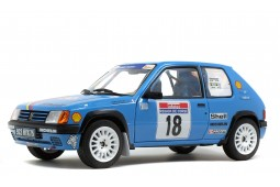 PEUGEOT 205 Rally Tour de Corse 1990 Vericel / Chollier - Solido Escala 1:18 (S1801706)