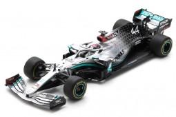 MERCEDES W11 Formula 2020 Campeon del Mundo Lewis Hamilton - Spark Escala 1:18 (18s473)