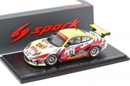 PORSCHE 911 996 GT3 RS Ganador 24h Le Mans 2003 Collard / Luhr / Maassen - Spark Escala 1:43 (s5527)