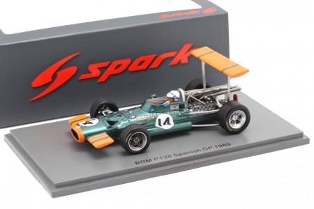 BRM P138 GP F1 Spain 1969 John Surtees - Spark Models Escala 1:43 (s5705)