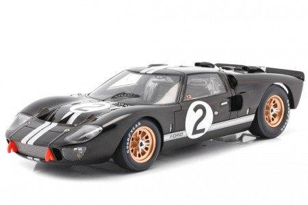 FORD GT40 MKII Ganador 24h LeMans 1966 B. McLaren / C. Amon - Spark Escala 1:18 (18LM66)