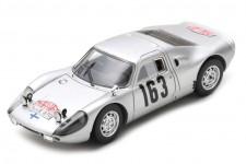 PORSCHE 904 Carrera GTS Rally Monte Carlo 1965 Toivonen / Jarvi - Spark Escala 1:43 (s0906)