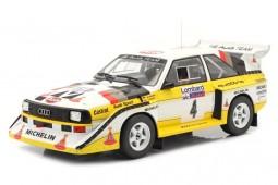 AUDI Sport Quattro S1 Lombard RAC Rallye 1985 Rohrl / Short - Ixo Escala 1:18 (18RMC048B)