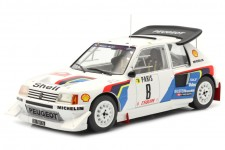 PEUGEOT 205 T16 Rally MonteCarlo 1986 Saby / Fauchille - Ixo Escala 1:18 (18RMC049C)