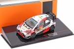 TOYOTA Yaris WRC 2nd Rally Catalunya World Champion 2019 Tanak / Jarveoja - Ixo Scale 1:43 (RAM734)