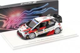 TOYOTA Yaris WRC Rally MonteCarlo 2020 Rovanpera / Halttunen - Spark Scale 1:43 (s6554)