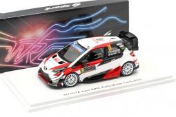 TOYOTA Yaris WRC Rally MonteCarlo 2020 Katsuta / Barritt - Spark Escala 1:43 (s6556)