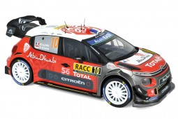 CITROEN C3 WRC Winner Rally Catalunya 2018 S. Loeb / D. Elena - Norev Scale 1:18 (181631)