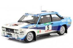 FIAT 131 Abarth Ganador Rally Portugal 1980 W. Rohrl / C. Geistdorfer - Kyosho Escala 1:18 (08376A)